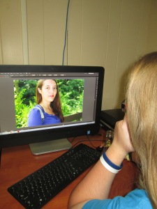 Just a little sneak peek of how Mackenzie goes about editing the wonderful pictures featured on
